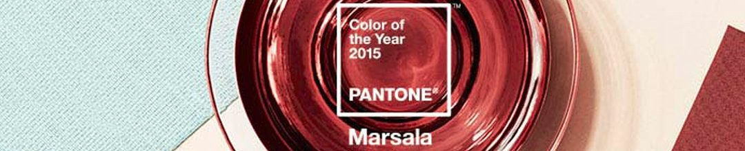 Marsala élue couleur de l'année 2015 by Pantone.