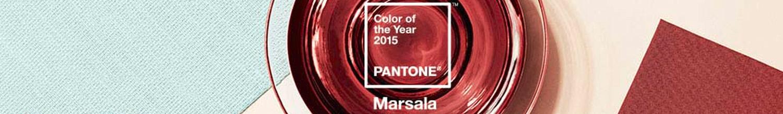 Marsala couleur tendance 2015 graphisme, Camille Coquet
