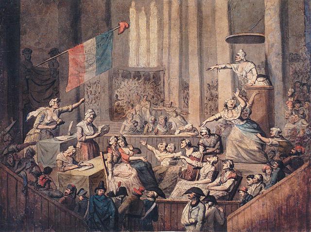 Chérieux - Club des femmes patriotes dans une église