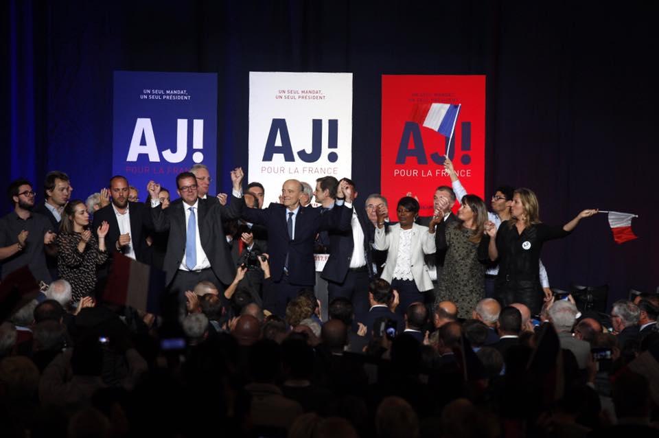 Alain Jupé 2016 affiche campagne primaires droite et centre