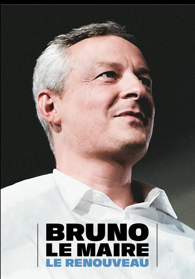 Bruno Le Maire 2016 affiche campagne primaires droite et centre