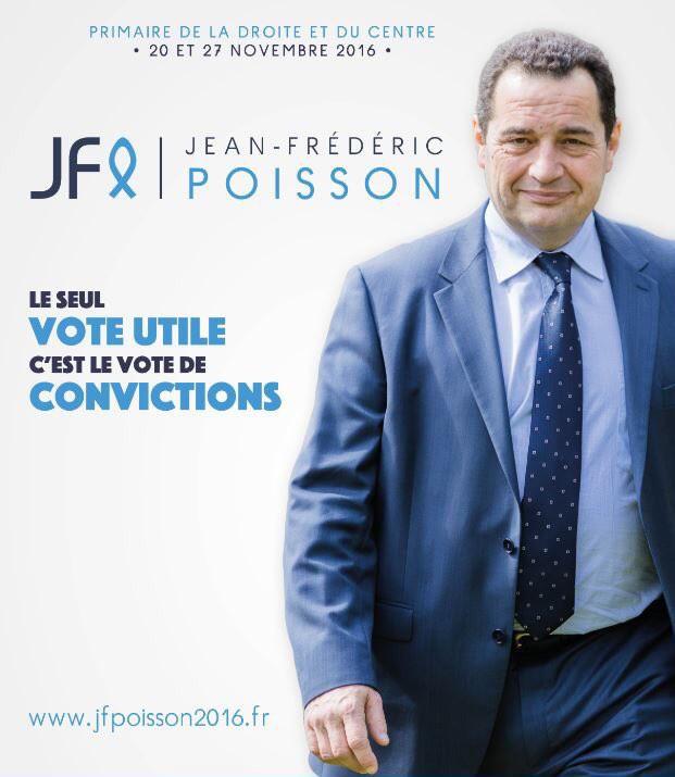 JF poisson 2016 affiche campagne primaires droite et centre