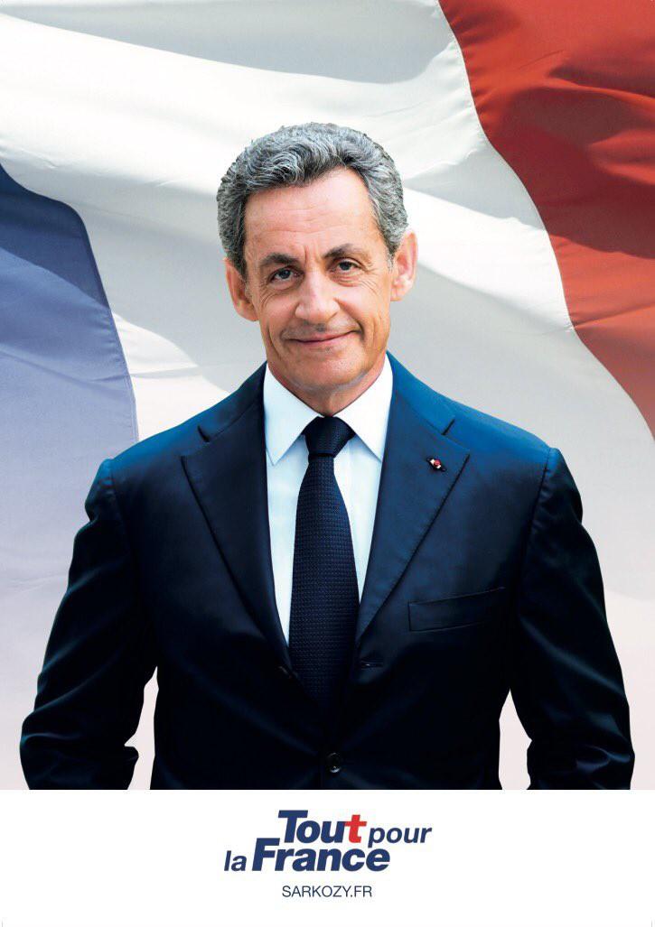Nicolas Sarkozy 2016 affiche campagne primaires droite et centre