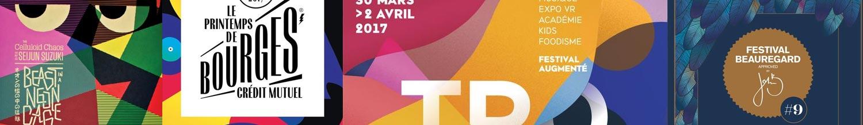 Tendances 2017 couleurs, palette, design, graphisme