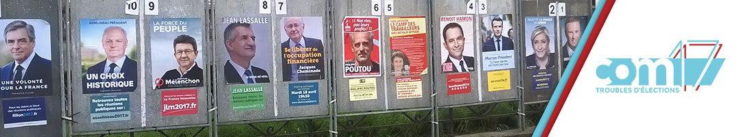 com17 / La présidentielle 2017 en affiche
