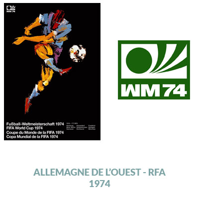 1974, Coupe du monde, football, design, communication, minimalisme