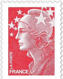 Marianne 2013, timbre la Poste, France, Symbole